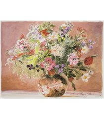 "david lloyd glover summer bouquet blush canvas art - 20"" x 25"""
