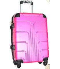 maleta fibra policarbonato grande 28 pulgadas le sak- rosado