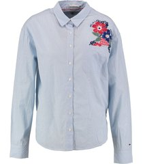 tommy hilfiger oversized blouse