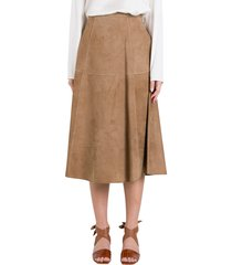 max mara the cube onore suede skirt