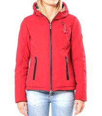 windjack 80db original blouson ml capuche - ecouteurs inclus 80db sally deep red