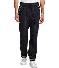 high shrunk trenton nylon pants