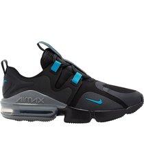 9-zapatillas de hombre nike nike air max infinity-negro
