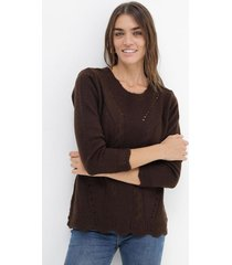 sweater chocolate romano helen
