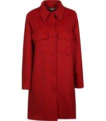 stella mccartney flared coat