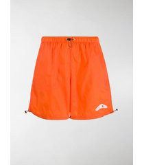heron preston ripstop branded swim shorts