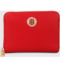 billetera rojo tommy hilfiger