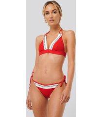 calvin klein bikiniunderdel - red