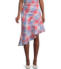astrid check skirt