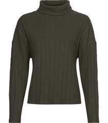 maglia soffice a coste (verde) - bodyflirt