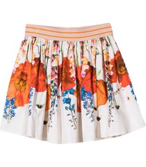 molo white pleated skirt