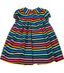 sonia rykiel multicolor dress for babygirl