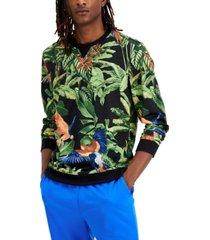 inc international concepts men's tropical sweatshirt, created for macy's