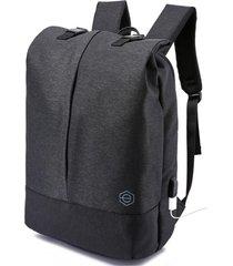 mochila antirrobo gris oscuro lhotse