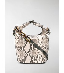 nico giani kalea acrylicypton bucket bag