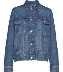 angel jacket jeansjacka denimjacka blå wood wood
