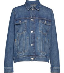 angel jacket jeansjacka denimjacka blå wood wood