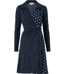 omlottklänning suedacr wrap dress