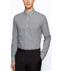 boss men's ronni f slim-fit cotton shirt