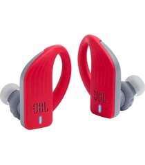 audifonos deportivos impermeables jbl endurance peak ipx7 rojo