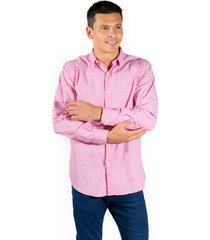 camisa rosa pato pampa corte clasico fantasía