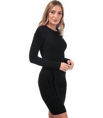womens belted jumper dress