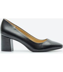 tacones casuales mujer naturalizer z1am negro