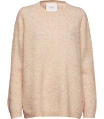 chiba knit gebreide trui roze just female