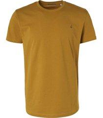 no excess t-shirt short sleeve crewneck gold