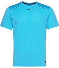 pro hypervent ss tee m t-shirts short-sleeved blå craft