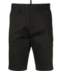 dolce & gabbana tailored bermuda shorts - black