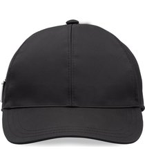prada re-nylon baseball cap - black
