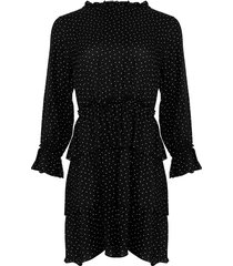 noella noella fikka dress black dots