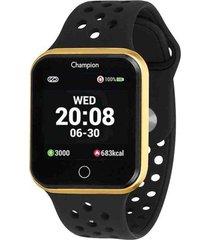 relã³gio  smartwatch champion ch50006u - preto - dafiti