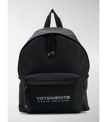 vetements reflector backpack