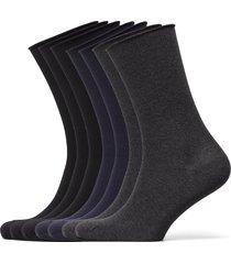 decoy socks org.cotton 7pk underwear socks regular socks svart decoy