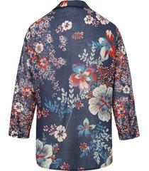 blouse van 100% katoen met 3/4-mouwen van mayfair by peter hahn multicolour