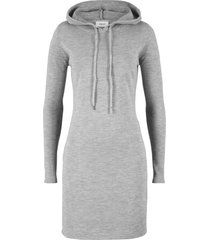 abito in maglia con cappuccio (grigio) - bpc bonprix collection