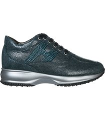 scarpe sneakers donna in pelle interactive