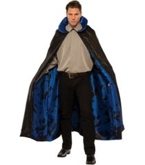 buyseasons men's dark night blue cape adult costume