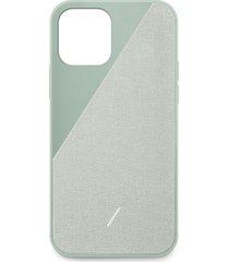 clic canvas iphone 12 pro max case - sage
