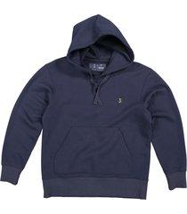 butcher of blue sweatshirt 1913009 classic hooded blauw