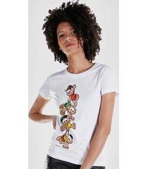 camiseta feminina turma da mônica a turma