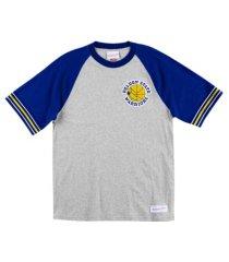 mitchell & ness men's golden state warriors team captain t-shirt