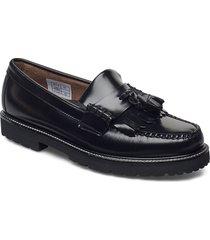 gh weejun 90 layton ii kiltie loafers låga skor svart g.h. bass