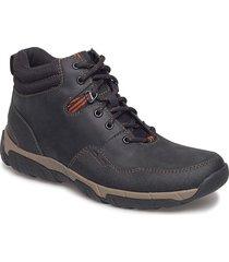 walbeck top ii laarzen met veters zwart clarks