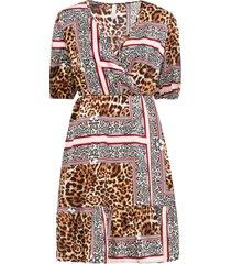 abito leopardato (marrone) - bodyflirt boutique