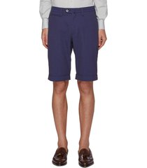 striped seersucker bermuda shorts