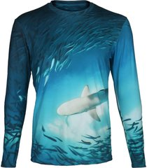 camisa manga larga tiburon steam beachwear