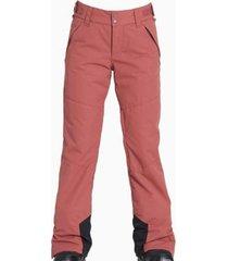 pantalón de ski malla rosa billabong